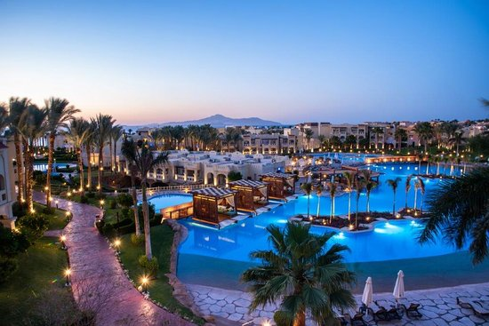 a picture from one of luxurious hotels in sharm elsheikh